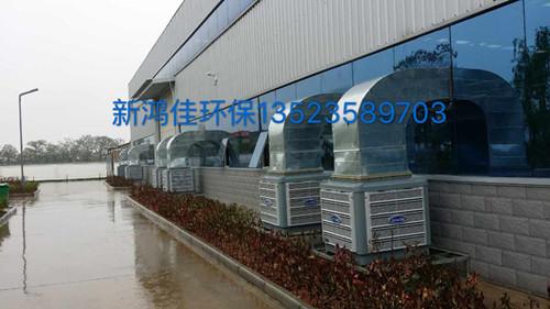 郑州,洛阳洗涤公司车间降温通风工程-河南冷风机