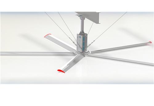 如何减轻河南工业大风扇耗电量?