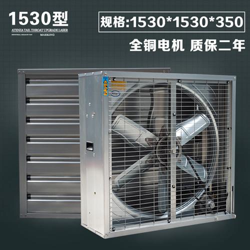 用于厂房通风降温的负压风机我们可以从哪些方面选择