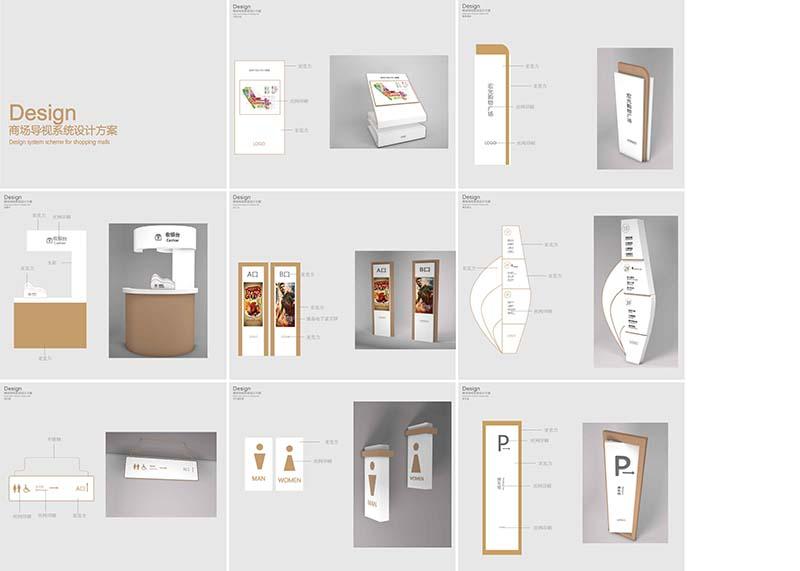 商场导视设计图