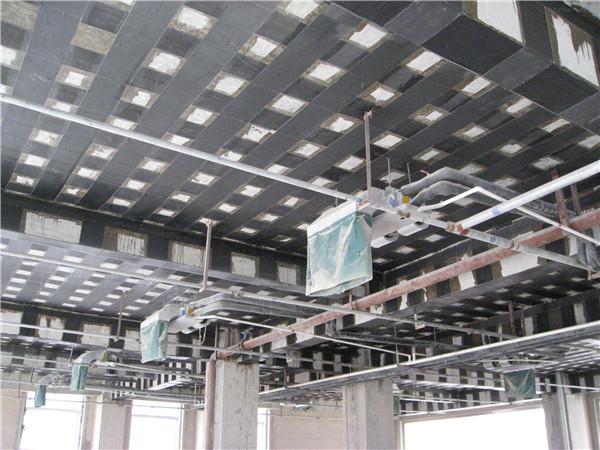 碳纖維加固施工