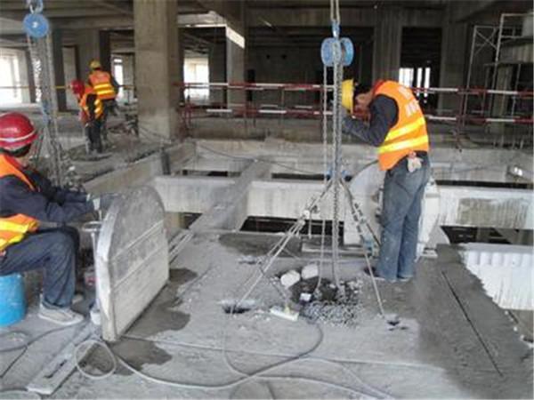 混凝土静力拆除加固公司