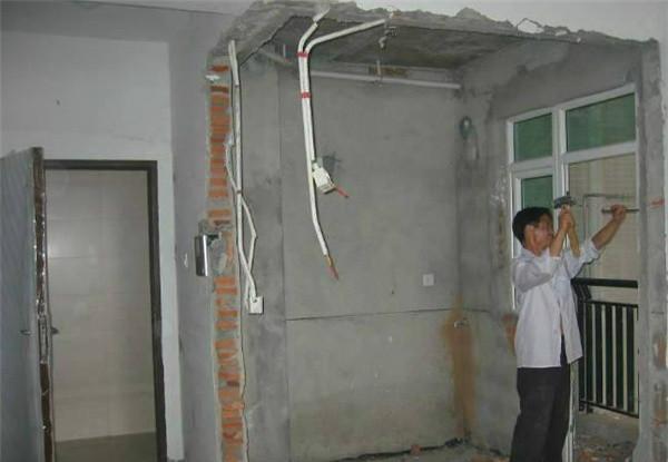 承重牆托換撤除加固工程