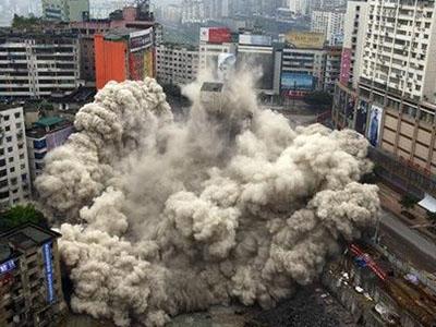 在土石方爆破中遇到岩石不能爆破怎么办,我们有好的方法,不信你进来看看