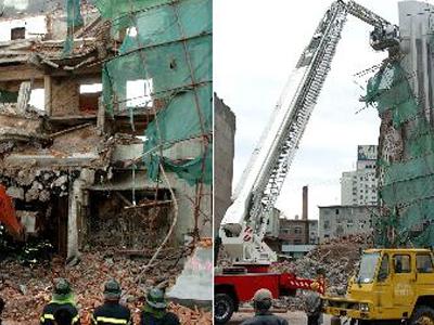 旧楼拆除工程图片展示