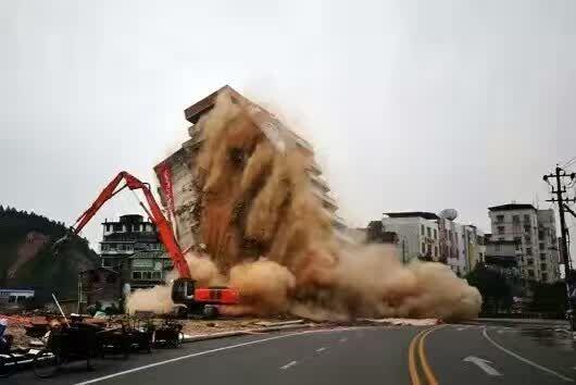 宁夏爆破工程公司现场图
