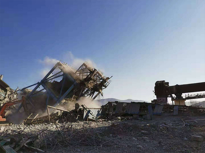 银川旧楼拆除-六盘水水泥厂拆除