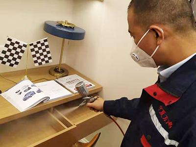 室内除甲醛治理施工图片展示