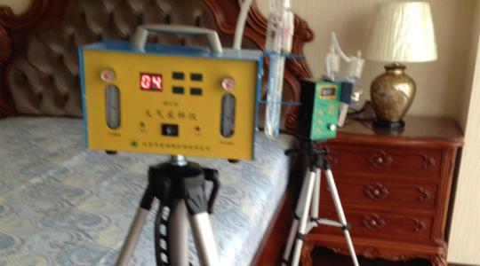 甲醛检测过程图片展示