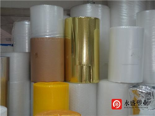 气泡膜又称气垫膜,泡泡膜,气泡纸等,起到防压防潮防震的作用