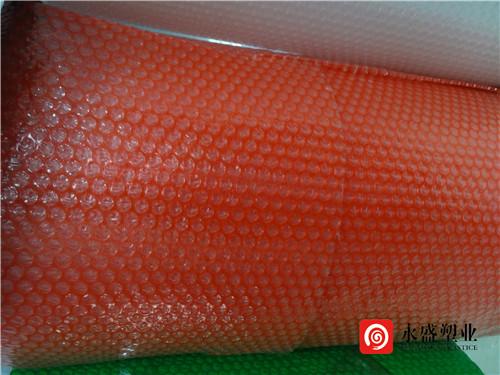 红色气泡膜
