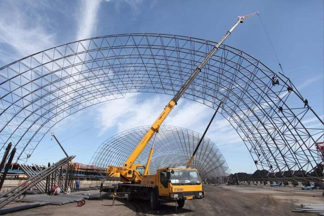 鄂尔多斯煤棚网架制造,就选鄂尔多斯市鑫进源彩公司