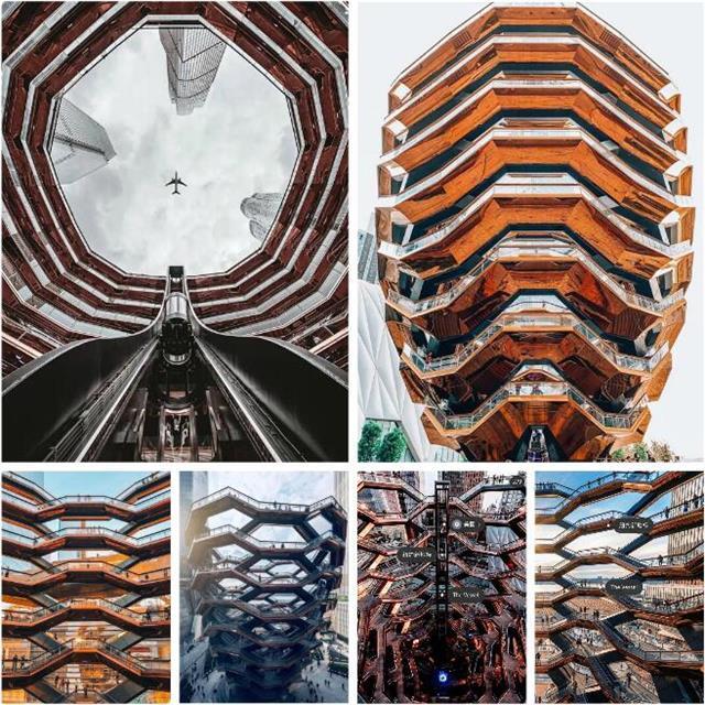 纽约网红新地标钢结构艺术建筑出自谁之手?效果怎么样?
