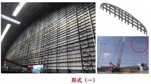 鄂尔多斯煤棚结构山墙抗风桁架系统