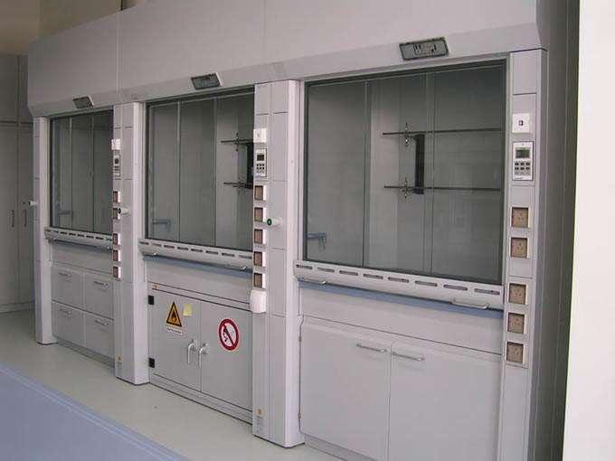 包头实验室装修设计-联体通风柜