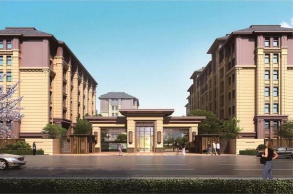 河南石塑电梯门套厂家与巩义碧桂园合作