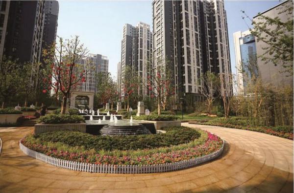 河南石塑电梯门套厂家与九龙府合作案例