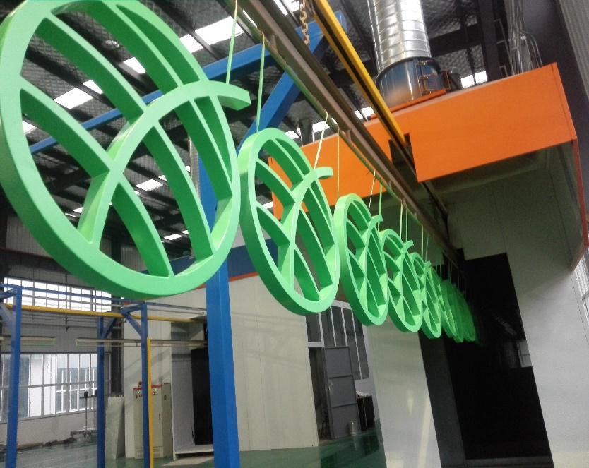 西安仿木纹铝板-生产展示