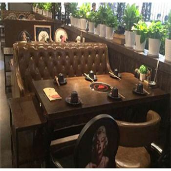 西安沙發卡座餐飲家具設計