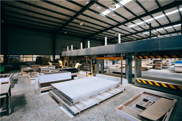 板材厂加工车间