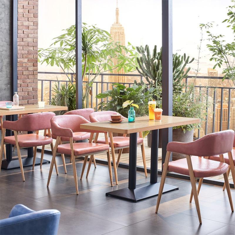 甜品店桌椅奶茶店