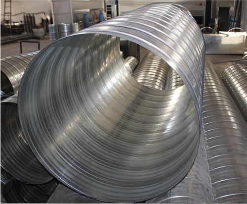 西安嘉龙通风工程有限公司讲解螺旋风管具有以下特点