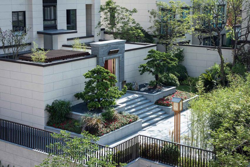 中式庭院风格设计打造 轻松自然 环境优美