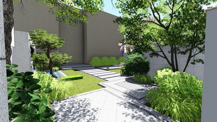 清新自然庭院风格打造 河南旭诚建材设计 可靠美观
