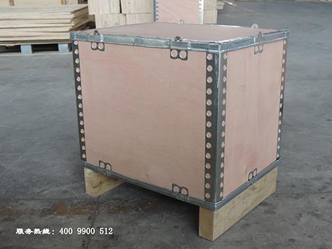 四川折叠钢边箱
