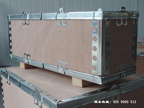 南充折叠钢边箱