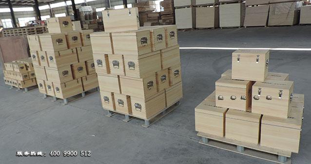 木箱包装存放车间