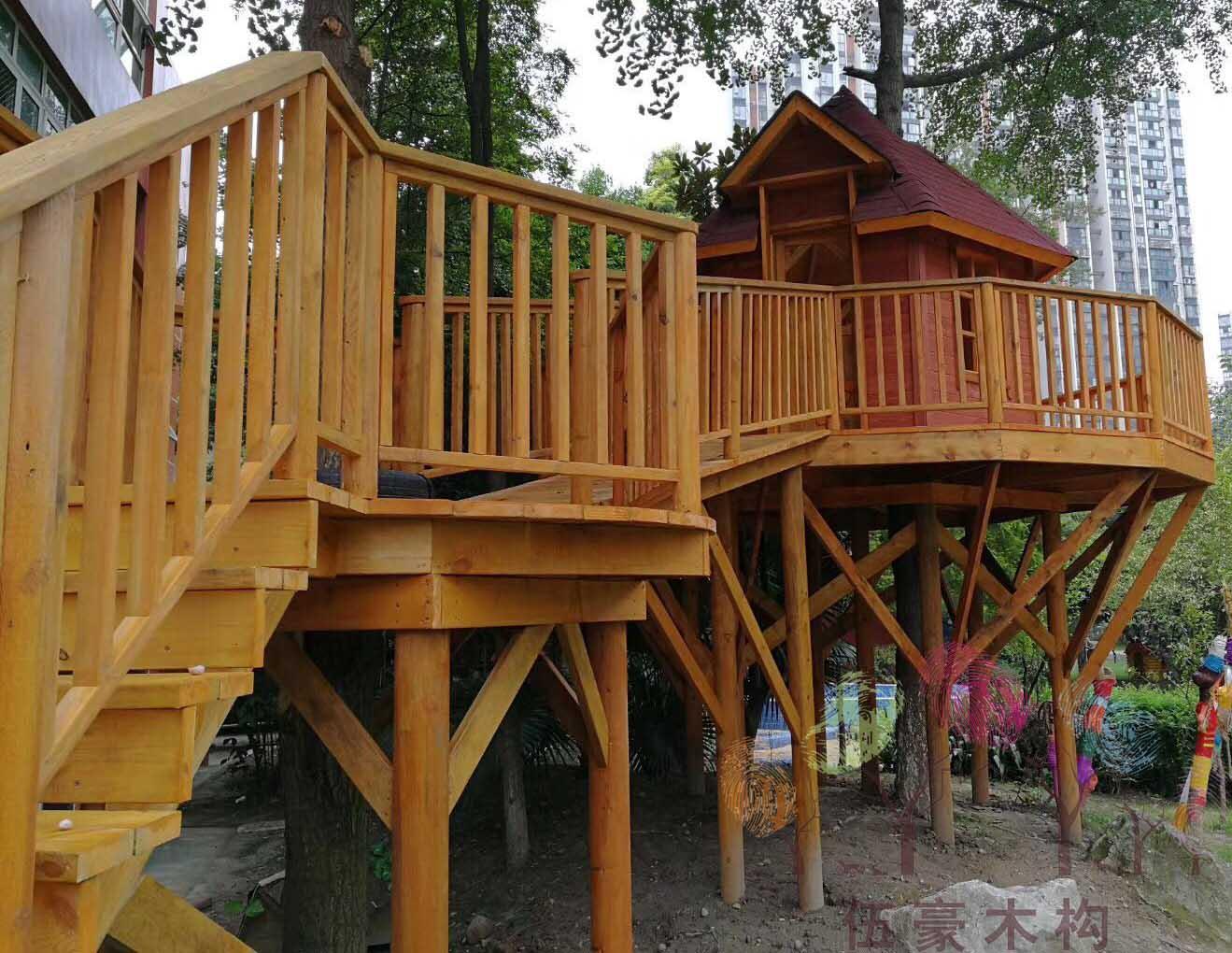 兒童木質游樂設施