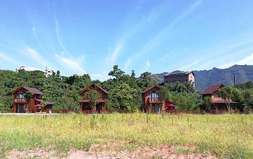 贵州木别墅工程