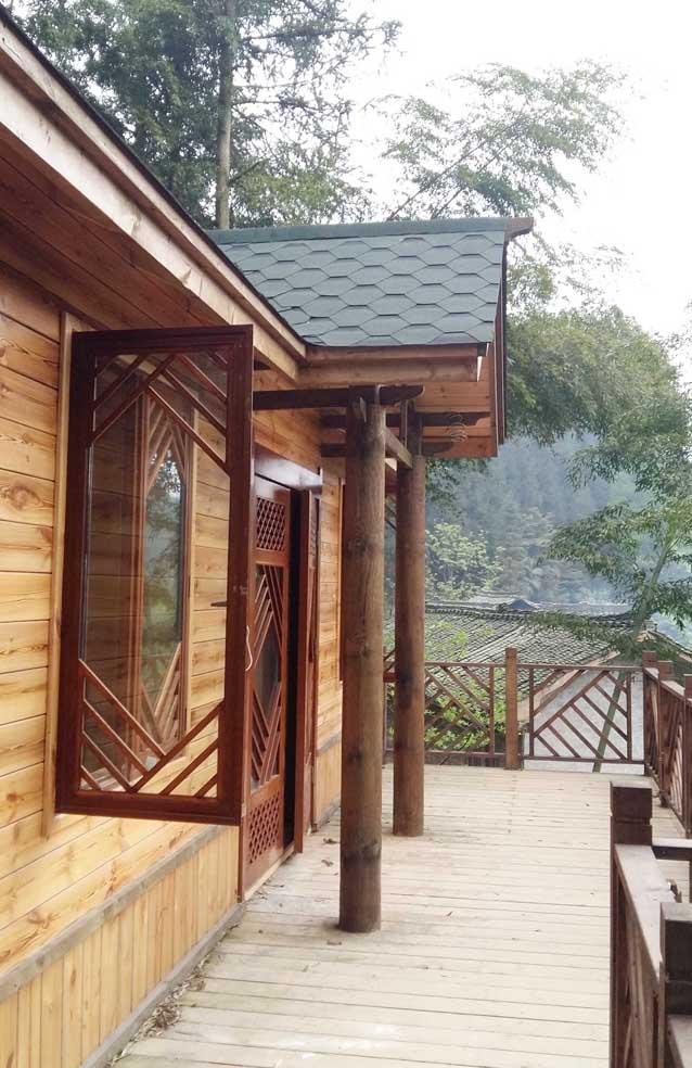 四川传统木结构设计