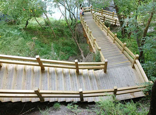 成都木結構棧道