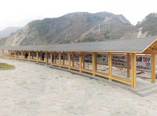 绵阳木结构走廊