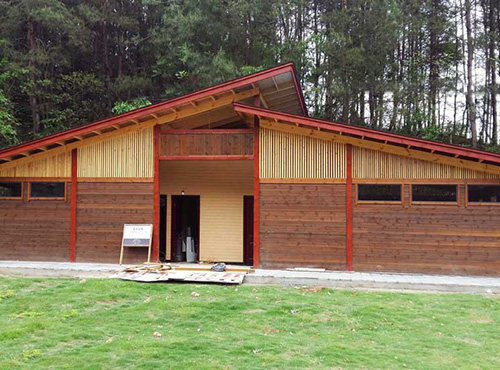 綿陽木屋別墅