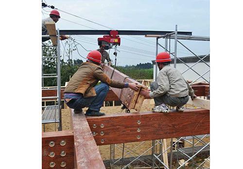 成都木屋施工