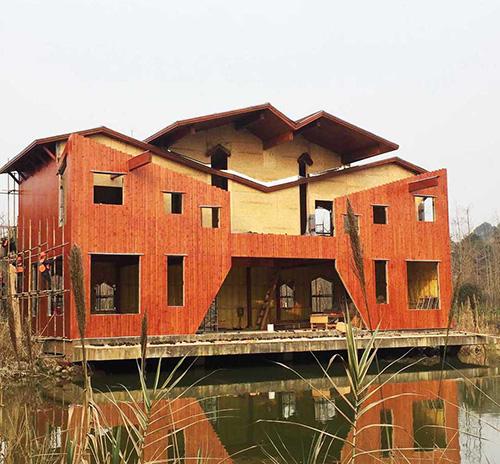 四川木别墅工程很不错,值得推荐