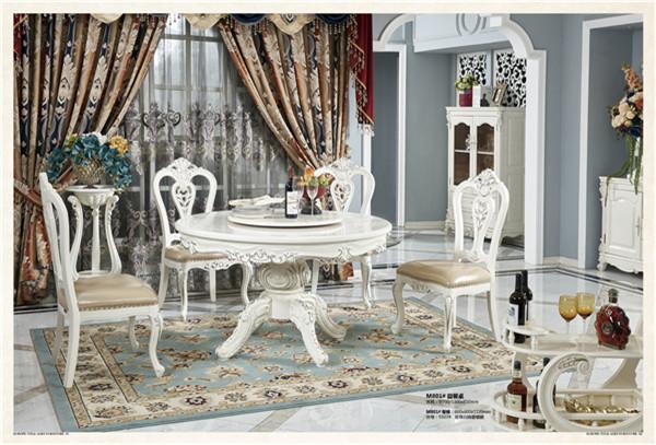 餐桌椅+背台柜+餐边柜