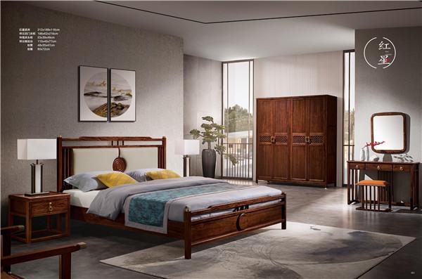 床+床头柜+衣柜