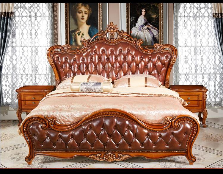 名流世家-欧爵时代欧美整体系列-花开富贵床M802#床头柜