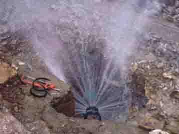 成都单位漏水检测现场
