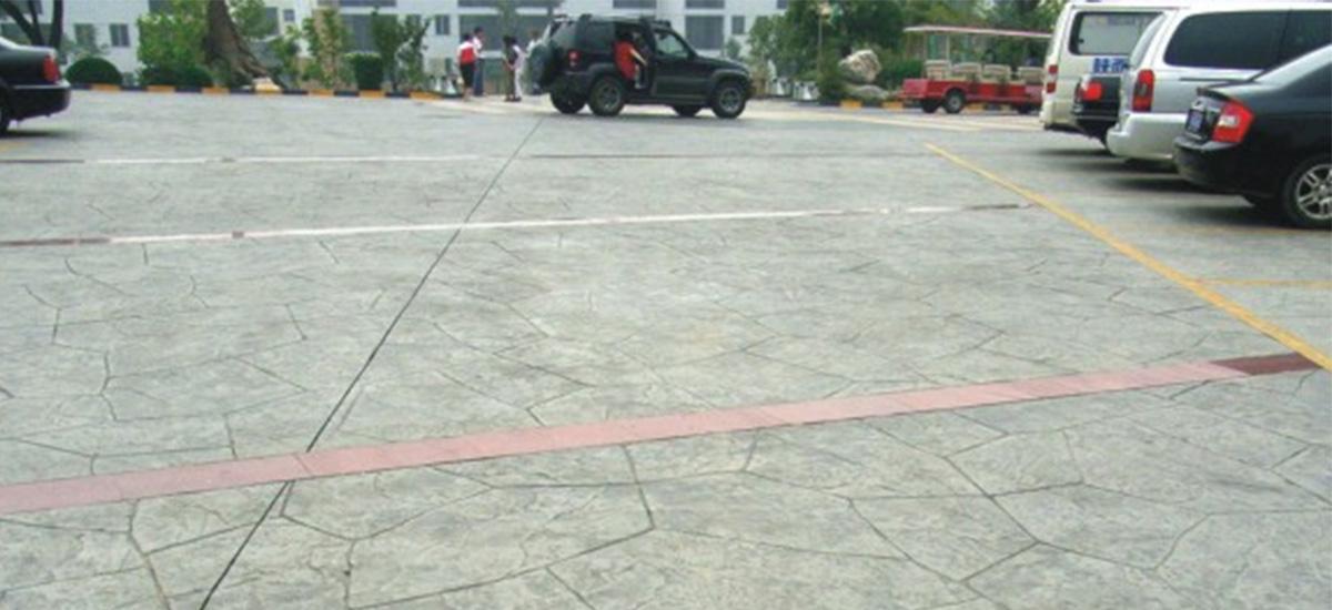 成都压膜地坪工程施工案例