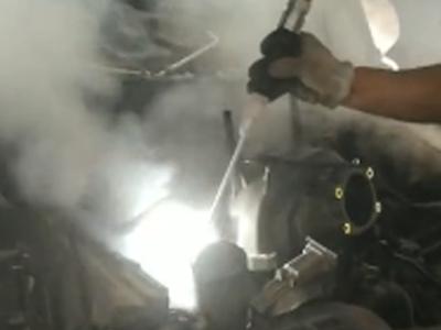 燃烧室清洗左右视频展示一