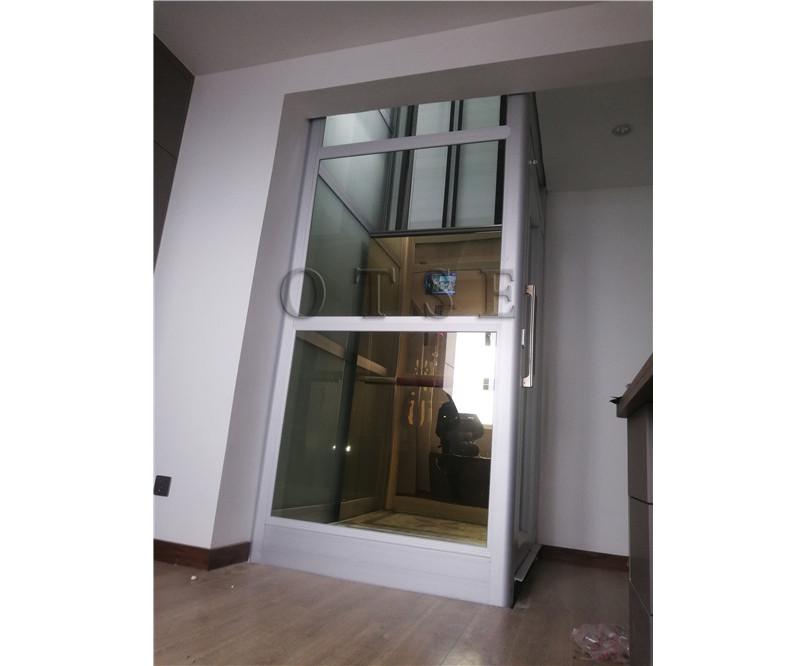 河南螺杆电梯-复式楼天井