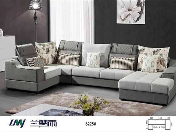 兰梦雨沙发定制-型号6225