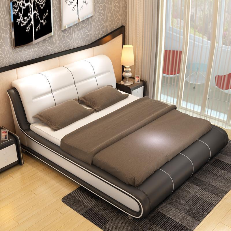 舒适软床,卧室颜值担当!