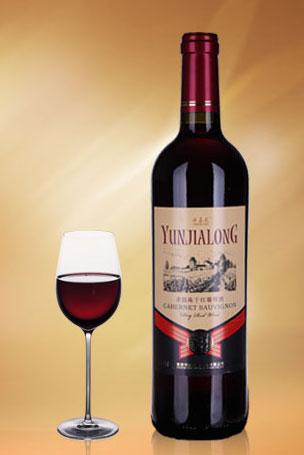 云嘉龙赤霞珠干红葡萄酒