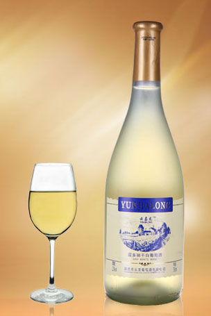 云嘉龙霞多丽干白葡萄酒生产